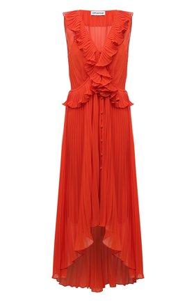 Женское платье SELF-PORTRAIT оранжевого цвета, арт. SS21-101 | Фото 1