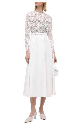 Женское платье SELF-PORTRAIT белого цвета, арт. SS21-093M | Фото 2