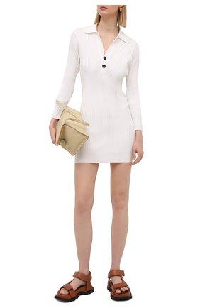 Женское платье SELF-PORTRAIT белого цвета, арт. SS21-084 | Фото 2