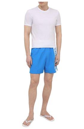 Мужские шлепанцы HUGO белого цвета, арт. 50451987 | Фото 2
