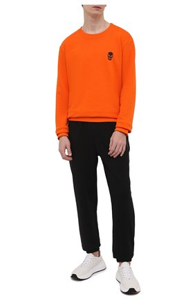Мужской хлопковый спортивный костюм SEVEN LAB разноцветного цвета, арт. 66SWP21-1sk orange/black | Фото 1
