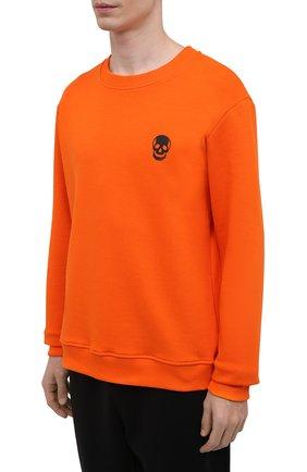 Мужской хлопковый спортивный костюм SEVEN LAB разноцветного цвета, арт. 66SWP21-1sk orange/black | Фото 2