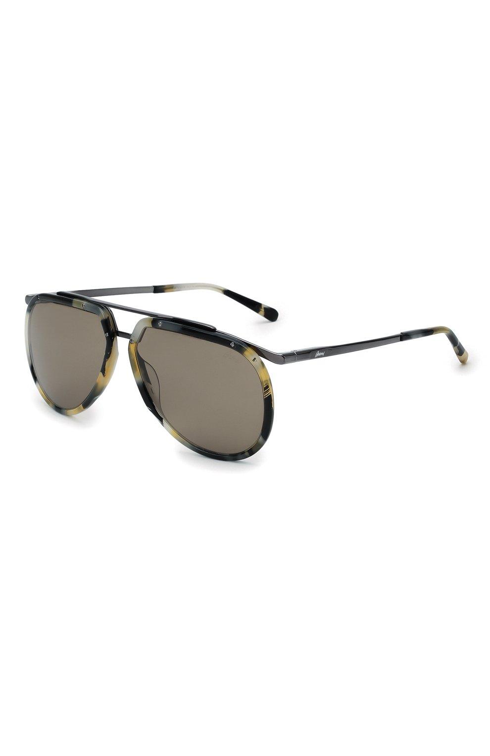 Мужские солнцезащитные очки BRIONI разноцветного цвета, арт. 0DC900/P3ZAC | Фото 1