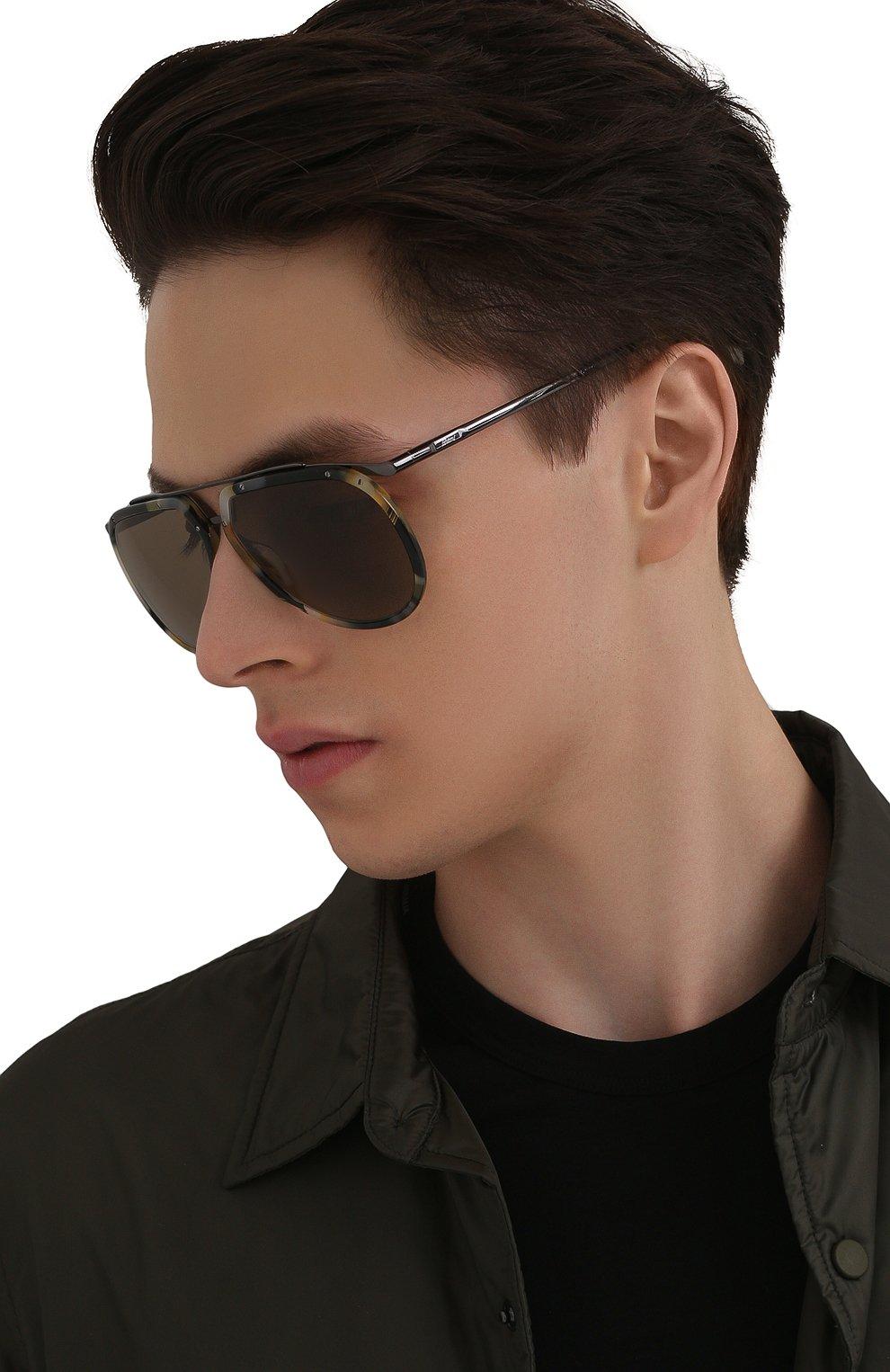 Мужские солнцезащитные очки BRIONI разноцветного цвета, арт. 0DC900/P3ZAC | Фото 2