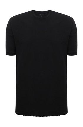 Мужская хлопковая футболка THOM KROM черного цвета, арт. M TS 533   Фото 1