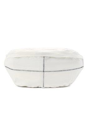 Мужская текстильная поясная сумка THOM KROM белого цвета, арт. BAG 2   Фото 1
