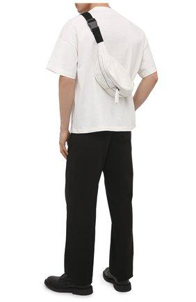 Мужская текстильная поясная сумка THOM KROM белого цвета, арт. BAG 2   Фото 2