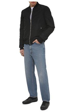 Мужские текстильные кеды RBRSL черного цвета, арт. 7Z2046U.Z40TZNT146   Фото 2