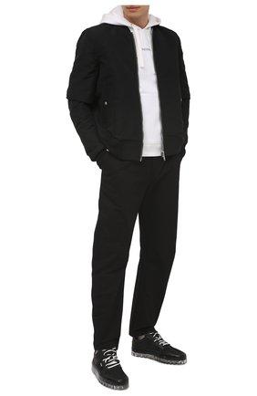 Мужские комбинированные кеды RBRSL черного цвета, арт. 7Z2292U.Y40C8RB001   Фото 2
