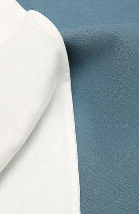 Детского хлопковое одеяло BALMAIN синего цвета, арт. 6O0810   Фото 2
