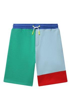 Детские хлопковые шорты MARC JACOBS (THE) разноцветного цвета, арт. W24234   Фото 1