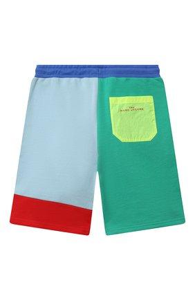 Детские хлопковые шорты MARC JACOBS (THE) разноцветного цвета, арт. W24234   Фото 2