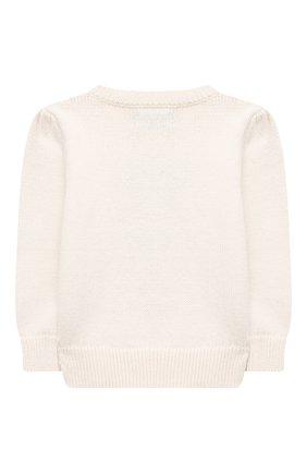 Детский хлопковый пуловер POLO RALPH LAUREN бежевого цвета, арт. 313834981 | Фото 2