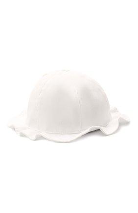 Детская хлопковая шляпа IL TRENINO белого цвета, арт. 21 5121 | Фото 2