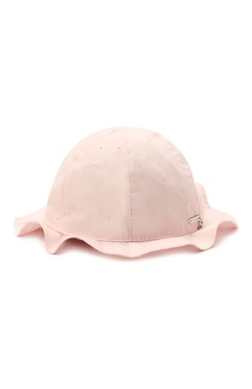 Детская хлопковая шляпа IL TRENINO светло-розового цвета, арт. 21 5120 | Фото 1