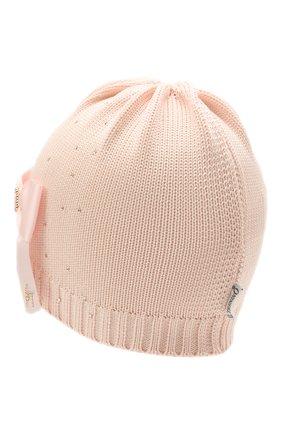 Детского хлопковая шапка IL TRENINO розового цвета, арт. 21 5079/18 | Фото 2