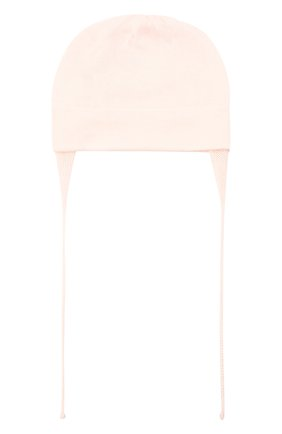 Детского хлопковая шапка IL TRENINO светло-розового цвета, арт. 21 5023/EY | Фото 2