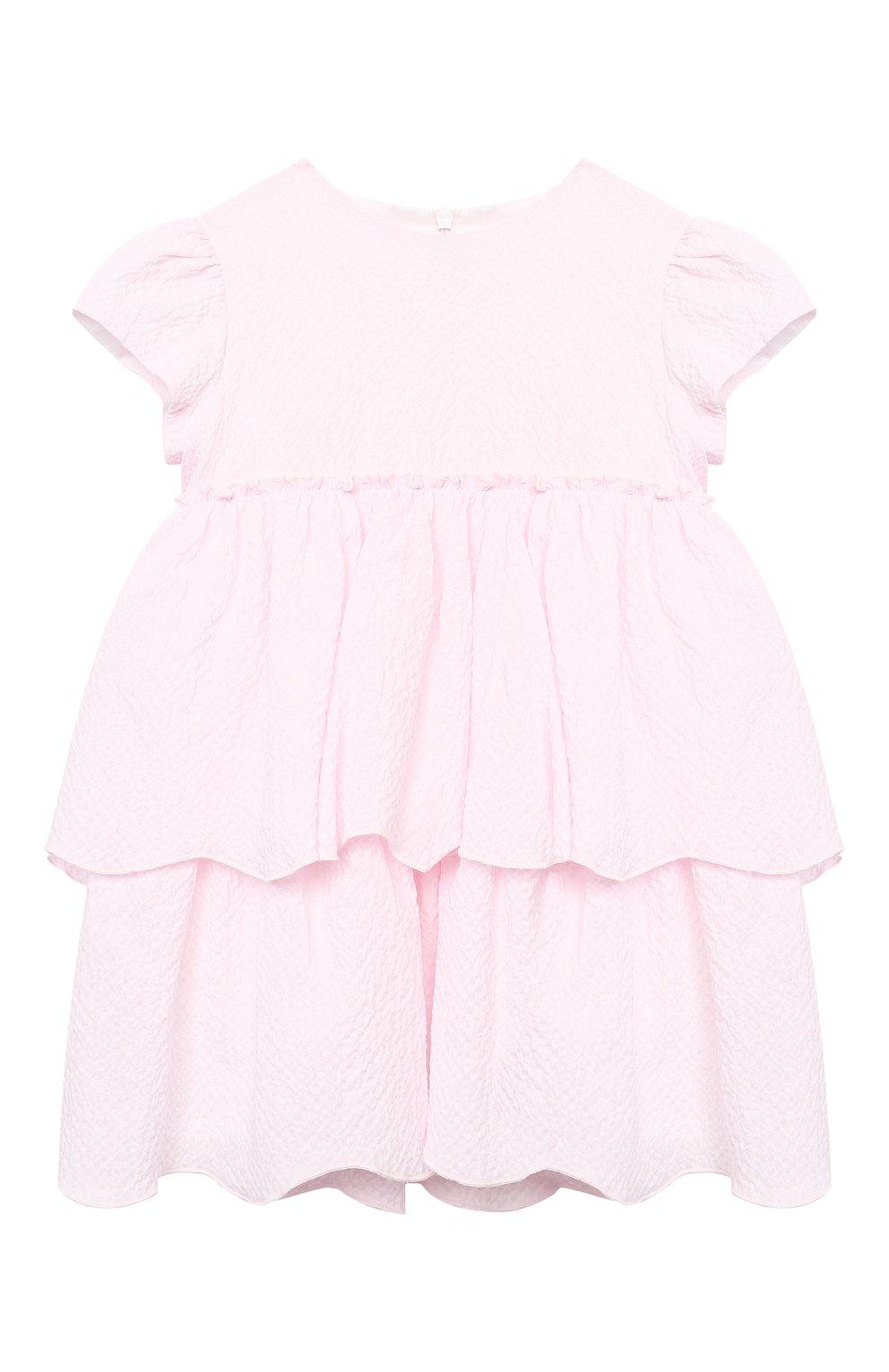 Женский хлопковое платье IL GUFO розового цвета, арт. P21VM627C0053/24M | Фото 1