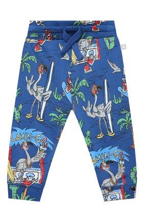 Детский комплект из свитшота и брюк STELLA MCCARTNEY синего цвета, арт. 602848/SQJ66 | Фото 4