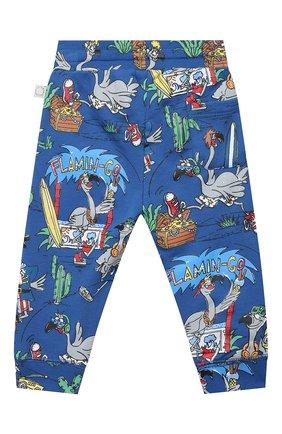 Детский комплект из свитшота и брюк STELLA MCCARTNEY синего цвета, арт. 602848/SQJ66 | Фото 5