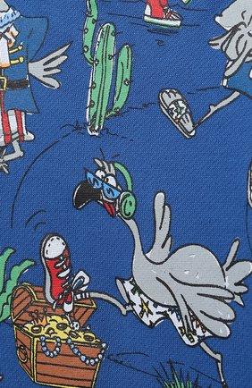 Детский комплект из свитшота и брюк STELLA MCCARTNEY синего цвета, арт. 602848/SQJ66 | Фото 6