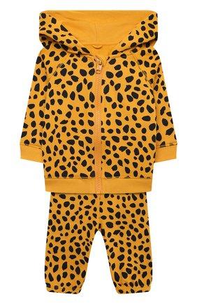 Детский комплект из толстовки и брюк STELLA MCCARTNEY оранжевого цвета, арт. 602847/SQJ27 | Фото 1