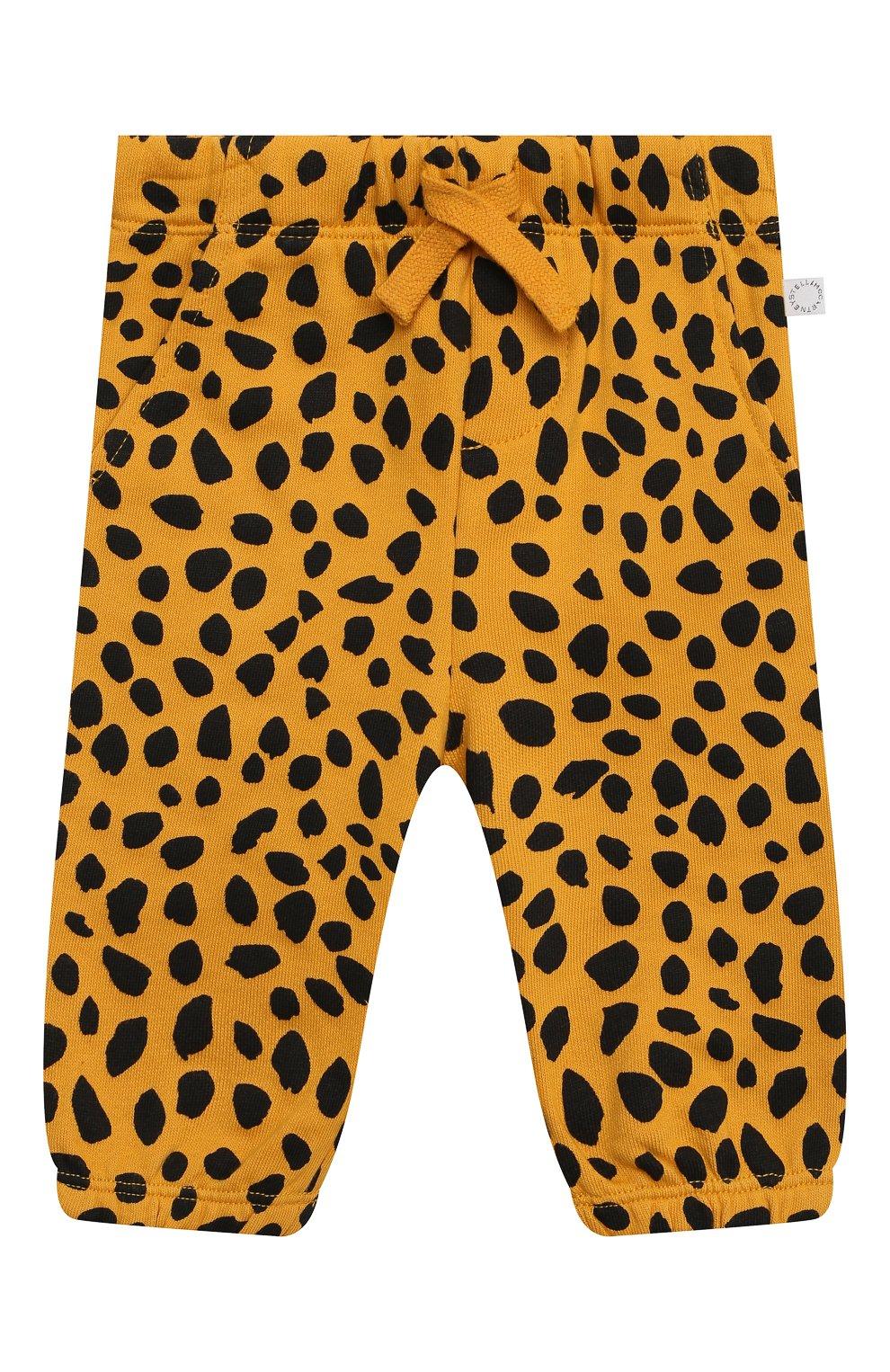 Детский комплект из толстовки и брюк STELLA MCCARTNEY оранжевого цвета, арт. 602847/SQJ27 | Фото 4