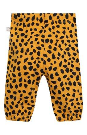 Детский комплект из толстовки и брюк STELLA MCCARTNEY оранжевого цвета, арт. 602847/SQJ27 | Фото 5