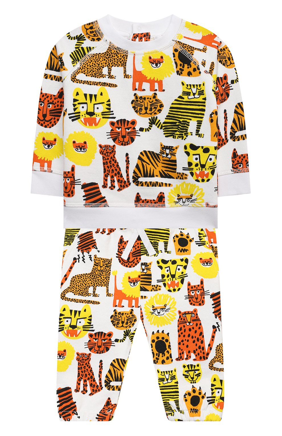Детский комплект из свитшота и брюк STELLA MCCARTNEY разноцветного цвета, арт. 602845/SQJ17 | Фото 1