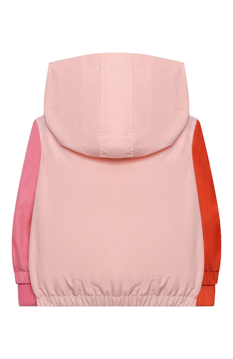 Детского ветровка STELLA MCCARTNEY розового цвета, арт. 602556/SQKD7/9M | Фото 2