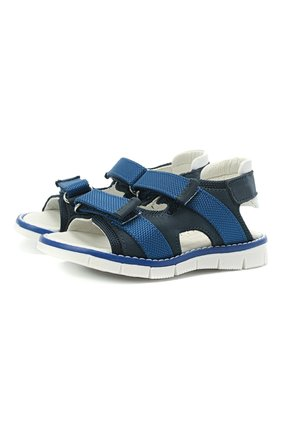 Детские сандалии WALKEY синего цвета, арт. Y1B2-41310-0981/19-24 | Фото 1