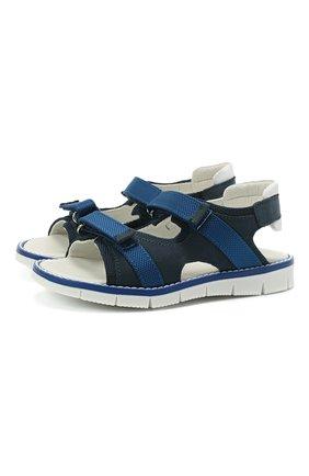 Детские сандалии WALKEY синего цвета, арт. Y1B2-41310-0981/25-29 | Фото 1