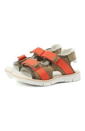 Детские сандалии WALKEY коричневого цвета, арт. Y1B2-41310-0981/19-24 | Фото 1