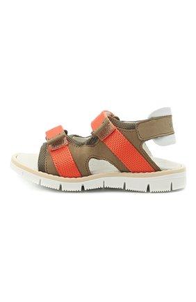 Детские сандалии WALKEY коричневого цвета, арт. Y1B2-41310-0981/19-24 | Фото 2