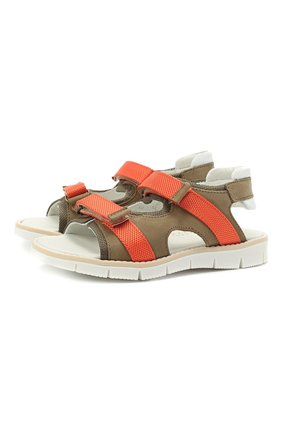 Детские сандалии WALKEY коричневого цвета, арт. Y1B2-41310-0981/25-29 | Фото 1