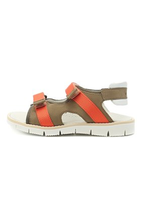 Детские сандалии WALKEY коричневого цвета, арт. Y1B2-41310-0981/25-29 | Фото 2