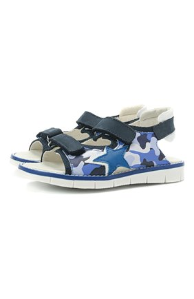 Детские сандалии WALKEY синего цвета, арт. Y1B2-41313-1209/25-29 | Фото 1
