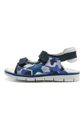 Детские сандалии WALKEY синего цвета, арт. Y1B2-41313-1209/25-29 | Фото 2