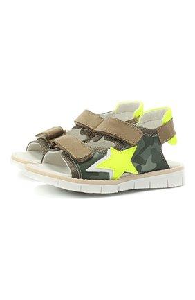 Детские сандалии WALKEY хаки цвета, арт. Y1B2-41313-1209/19-24 | Фото 1