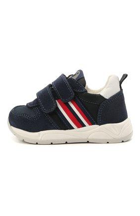 Детские замшевые кроссовки WALKEY темно-синего цвета, арт. Y1B4-41291-0660/19-24 | Фото 2