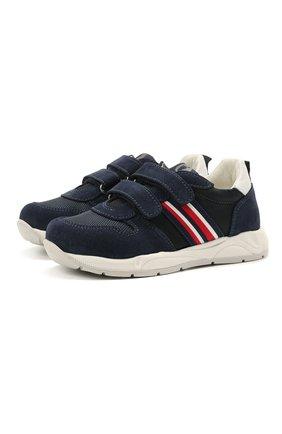Детские замшевые кроссовки WALKEY темно-синего цвета, арт. Y1B4-41291-0660/25-29 | Фото 1
