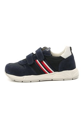 Детские замшевые кроссовки WALKEY темно-синего цвета, арт. Y1B4-41291-0660/25-29 | Фото 2