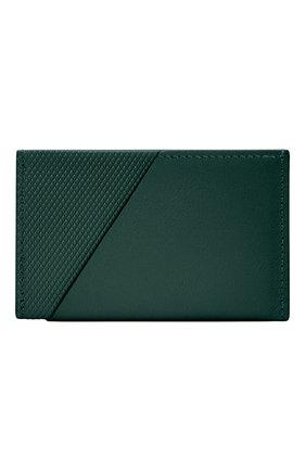 Мужской футляр для кредитных карт heritage NATIVE UNION темно-зеленого цвета, арт. CRDHLD-HRTG-DRGRN | Фото 2