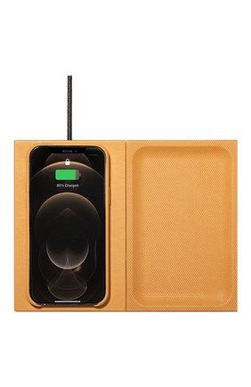 Беспроводное зарядное устройство valet heritage NATIVE UNION желтого цвета, арт. VALET-HRTG-YLW | Фото 2