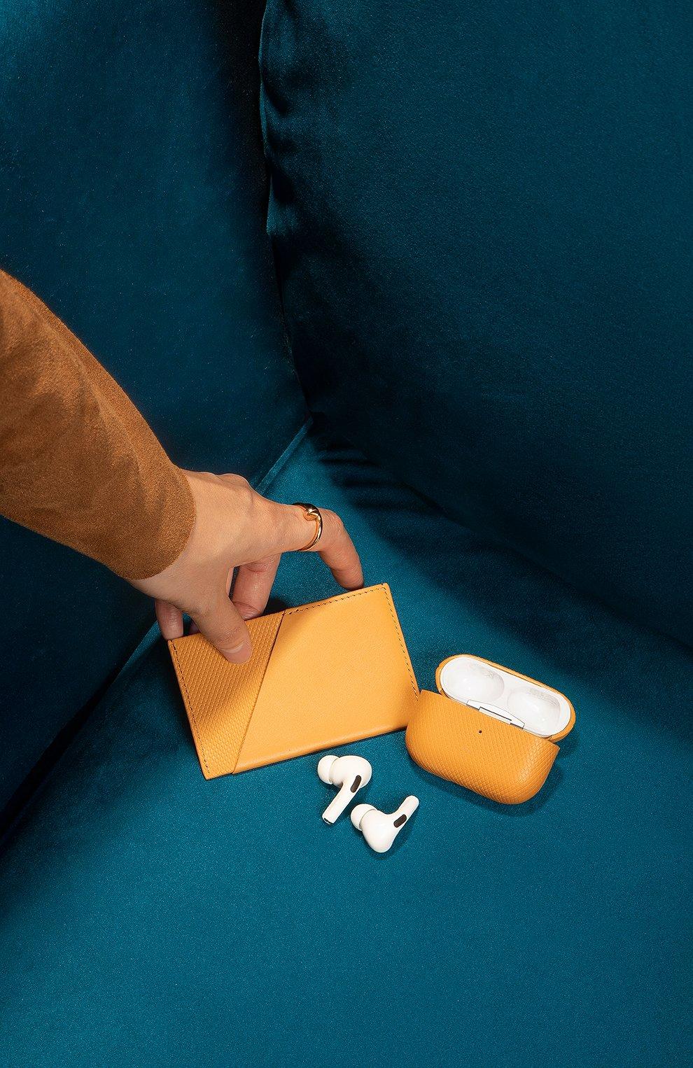 Мужской футляр для кредитных карт heritage NATIVE UNION желтого цвета, арт. CRDHLD-HRTG-YLW | Фото 4