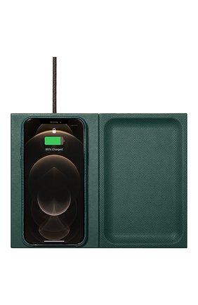 Беспроводное зарядное устройство valet heritage NATIVE UNION темно-зеленого цвета, арт. VALET-HRTG-DRGRN | Фото 2