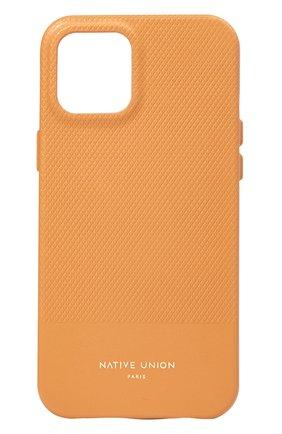 Чехол для iphone 12 mini clic heritage NATIVE UNION желтого цвета, арт. CHRTG-YLW-NP20S | Фото 1