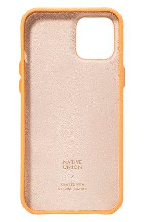 Чехол для iphone 12 mini clic heritage NATIVE UNION желтого цвета, арт. CHRTG-YLW-NP20S | Фото 2