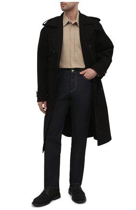 Мужские текстильные дерби the level BOTTEGA VENETA черного цвета, арт. 651314/V00H1 | Фото 2 (Стили: Классический; Материал внутренний: Натуральная кожа; Материал внешний: Текстиль)