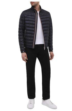 Мужская пуховая куртка daniel MONCLER темно-синего цвета, арт. G1-091-1A109-00-53279 | Фото 2